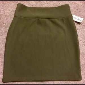 NWT-This is a green mini skirt from Forever21!
